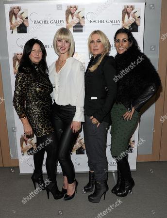 Stock Photo of Fran Cutler, Rachel Galley, Meg Mathews and guest