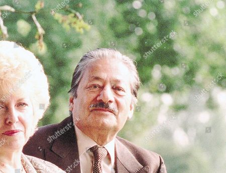 Actor Saeed Jaffrey And His Wife Jennifer.