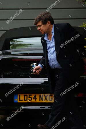 Stock Picture of Martin Paisner Pictured Outside His Heath Drive Home (no. 4) In West Hampstead London. City Lawyer Paisner Is A Close Associate Of Stockbroker Barry Townsley And Manages His Family Fortune. In 2005 Townsley Secretly Lent The Labour Party A1million And Was Nominated For A Peerage Weeks Later In February However He Was One Of The Four Businessmen Who Withdrew From The List Of Proposed Peers Amid Rumours That Nominations Had Been Blocked By The Lords Appointments Commission. Paisner Whose Links With Senior Labour Party Figures Include Lord Waheed Alli And Lord Derry Irvine Runs His Family Law Firm With His Brother. It Merged In 2000 With Rival Berwin Leighton And Has Earned Millions From More Than 100 Lucrative Government Contracts Including Consultancy Work On The Millennium Dome Advising The Ministry Of Defence On The Disposal Of Land And Carrying Out Work For The Cabinet Office On The Use Of Their Property. The Firm Also Specialises In The Private Finance Initiative One Of Prime Minister Tony Blair's Pet Projects.