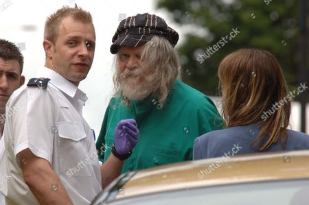 Editorial picture of The Marquess Of Bath Pictured At The Scene Of The Road Traffic Accident In Camden Hill Road Notting Hill Gate On Friday Afternoon Which Left A 27 Year Old Man In Hospital With Head Injuries. Pic:keith Waldegrave 22/06/2007.