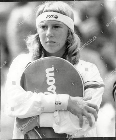 Andrea Jaeger Tennis Player At Wimbledon 1983.