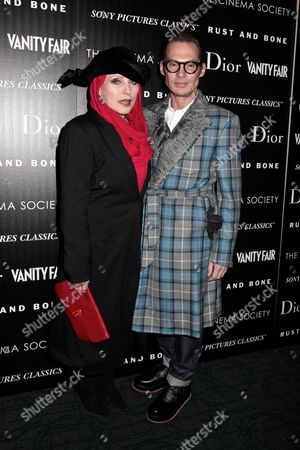 Deborah Harry and Todd Thomas