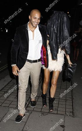 Stock Photo of Darrell Privett and Chloe Sims
