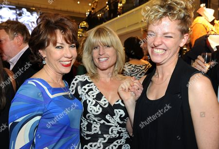 Kathy Lette, Rachel Johnson and environmental activist Tamsin Omond