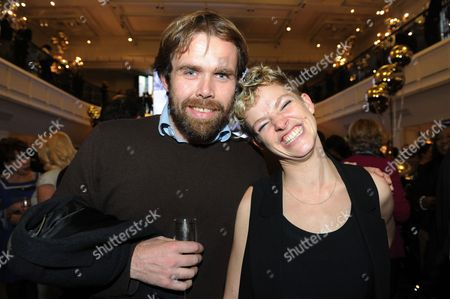 Secret Cinema founder Fabien Riggall with environmental activist Tamsin Omond