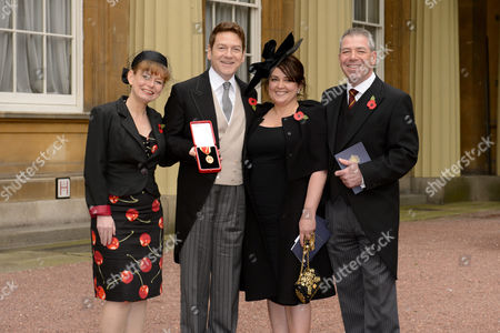 Editorial image of Investitures at Buckingham Palace, London,Britain - 09 Nov 2012