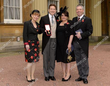 L-R Joyce Branagh,Sir Kenneth Branagh,Lindsay Branagh,Bill Branagh