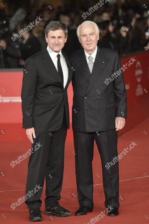 Gianni Alemanno and Paolo Ferrari