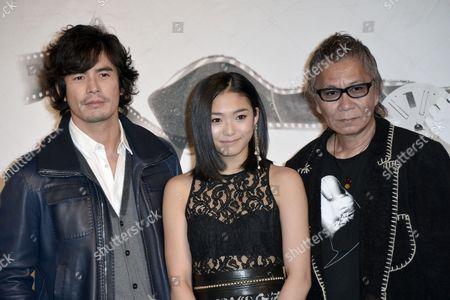 Hideaki Ito, Takashi Miike and Erina Mizuno
