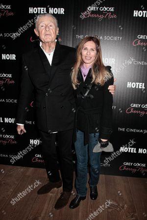 Joel Schumacher and Carole Radziwill