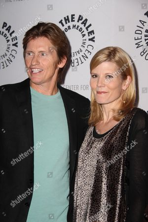 Denis Leary and Kate Snow
