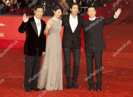 Editorial photo of 'Back to 1942' film premiere, 7th International Rome Film Festival, Italy - 11 Nov 2012