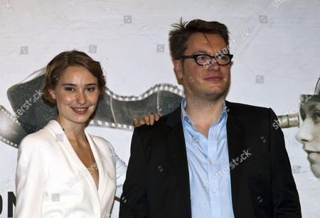 Director Regis Roinsard and Deborah Francois