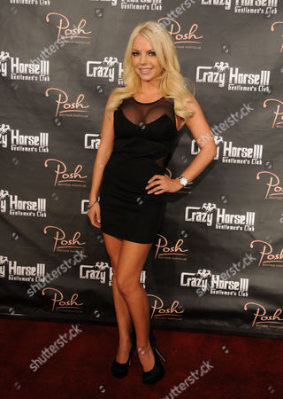 Editorial image of Playboy Playmate hosts promote Crazy Horse III event, Las Vegas, America - 10 Nov 2012