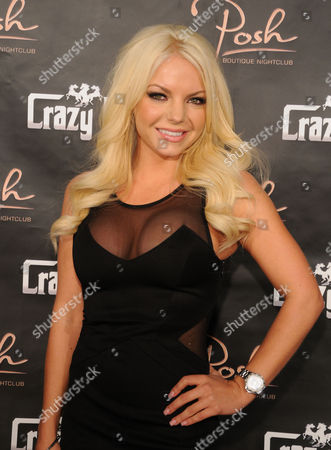 Editorial photo of Playboy Playmate hosts promote Crazy Horse III event, Las Vegas, America - 10 Nov 2012