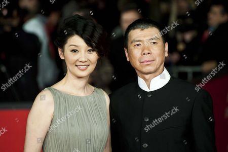 Xu Fan, director Feng Xiaogang