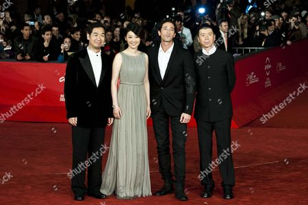 Zhang Guo Li, Xu Fan, Adrien Brody, Feng Xiaogang