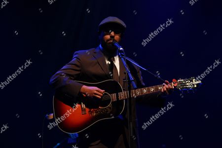 Editorial picture of Bhi Bhiman in concert at the London Jazz Festival, Royal Festival Hall, London, Britain - 11 Nov 2012