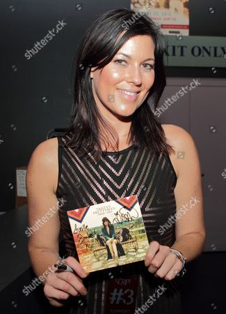 Tristan Prettyman greets fans after her performance