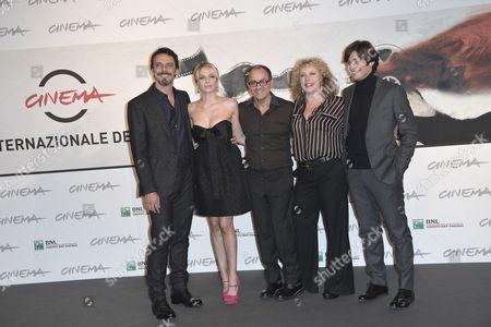 Alessandro Preziosi, Laura Chiatti, Pappi Corsicato, Iaia Forte and Lino Guanciale