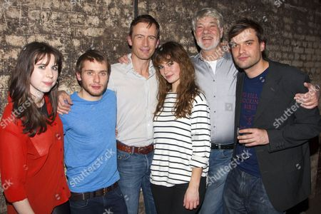 Editorial photo of 'The Seagull' play press night after party at Southwark Playhouse, London, Britain - 12 Nov 2012