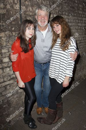 Stock Picture of Anya Reiss (Adaptation), Matthew Kelly (Dorn) and Lily James (Nina)