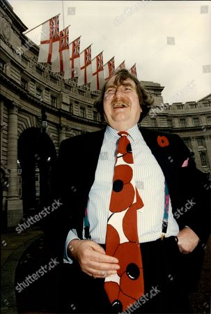Editorial picture of Businessman Sir John Harvey Jones At Poppy Appeal Wearing Poppy Tie Sir John Harvey-jones Mbe (16 April 1924 A 9 January 2008) Was An English Businessman. He Was The Chairman Of Imperial Chemical Industries From 1982 To 1987. He May Have Been Best Kn