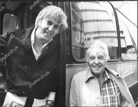 Singer Jack Jones (left) With His Father Allan Jones (right) John Allan 'jack' Jones (born January 14 1938) Is An American Jazz And Pop Singer. He Was One Of The Most Popular Vocalists Of The 1960s. Jones Was Primarily A Straight Pop Singer (even When He Recorded Contemporary Material) Whose Ventures In The Direction Of Jazz Were Mostly Of The Big Band/swing Variety. Jones Won Two Grammy Awards. He Performs Concerts Around The World And Remains Popular In Las Vegas. Some Of His Best-known Recordings Are 'wives And Lovers' (1964 Grammy Award Best Pop Male Performance) 'the Race Is On' 'lollipops And Roses' (1962 Grammy Award Best Pop Male Performance) 'the Impossible Dream' 'call Me Irresponsible' 'lady' And 'the Love Boat Theme' In The Second Half Of The Sixties Jones Had A Well-publicized Relationship With Actress Jill St. John And The Two Were Briefly Married. In The Early Seventies Jones Married Gretchen Roberts. Next He Was Linked Romantically To British Actress Susan George. From 1976 To 1982 He Was Married To Kathy Simmons. From 1982 To 2005 He Was Married To British-born Kim Ely And They Had A Daughter Nicole (born In 1991). The Singer Has Another Daughter Crystal Thomas From A Former Marriage To Lee Fuller. Jack Jones Now Lives With Wife Eleonora In La Quinta A Resort City In Riverside County California.
