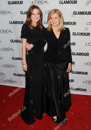Isabella Huffington and Arianna Huffington