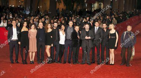Editorial picture of 'L'Isola Dell'Angelo Caduto' film premiere, 7th International Rome Film Festival, Italy - 11 Nov 2012
