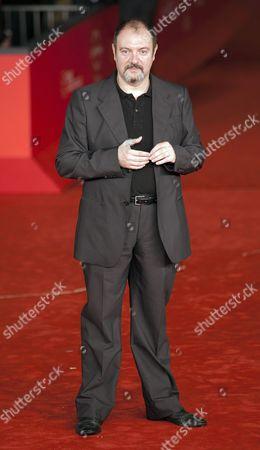 Stock Image of Director Carlo Lucarelli