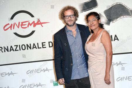 Director Enrique Rivero, Margarita Saldana