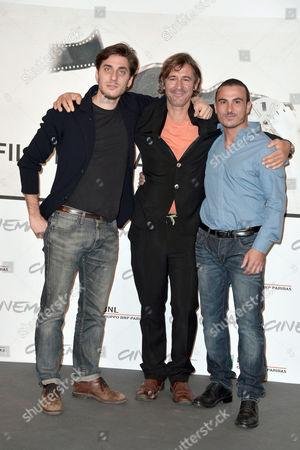 Luca Marinelli, director Corrado Sassi, Francesco Di Leva