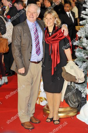 Stock Picture of Johnny Ball and wife Di Ball