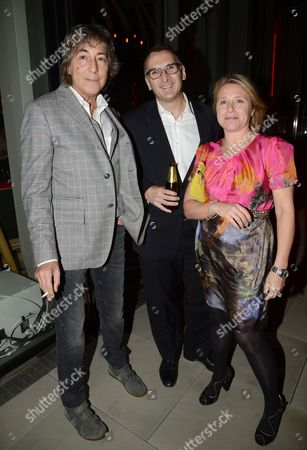 Stock Picture of Laurence Ronson with guests