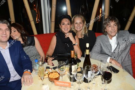 Stock Photo of Dame Gail Ronson and Laurence Ronson (far right)