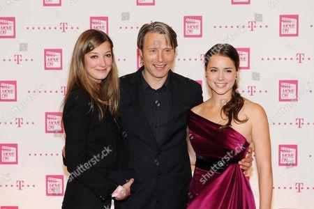 Alexandra Maria Lara, Mads Mikkelsen and Gabriela Marcinkova