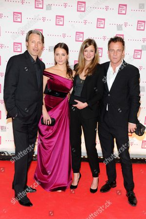 Stock Image of Mads Mikkelsen, Gabriela Marcinkova, Alexandra Maria Lara and Asger Leth