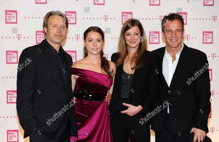 Stock Photo of Mads Mikkelsen, Gabriela Marcinkova, Alexandra Maria Lara and Asger Leth