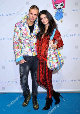 Andre Borchers and Shermine Sharivar