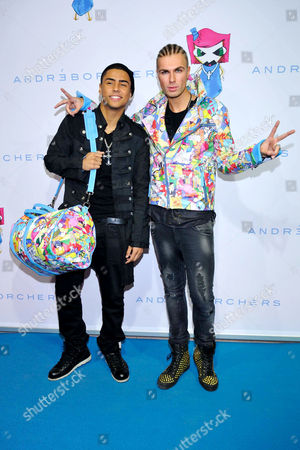Quincy Brown and Andre Borchers