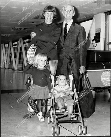 Tennis Player Ann Jones With Husband Pip Jones Aka Tim Jones And Their Children At London Airport Ann Haydon-jones (born Adrianne Shirley Haydon On 7 October 1938 In Kings Heath Birmingham England United Kingdom) Is A Former Table Tennis And Lawn Tennis Champion. She Won A Total Of 7 Grand Slam Championships During Her Career: Three In Singles Three In Women's Doubles And One In Mixed Doubles.