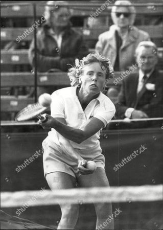Tennis Player Ann Jones In Action At Wimbledon Against Bastin Ann Haydon-jones (born Adrianne Shirley Haydon On 7 October 1938 In Kings Heath Birmingham England United Kingdom) Is A Former Table Tennis And Lawn Tennis Champion. She Won A Total Of 7 Grand Slam Championships During Her Career: Three In Singles Three In Women's Doubles And One In Mixed Doubles.