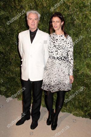 David Byrne and Sally Singer
