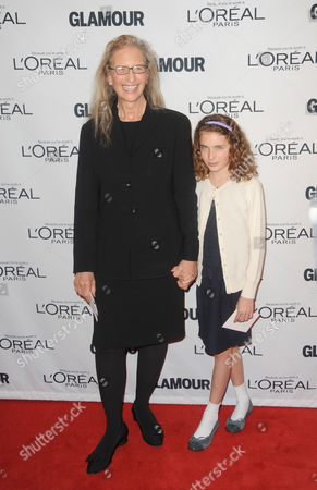 Stock Picture of Annie Leibovitz and Sarah Leibovitz