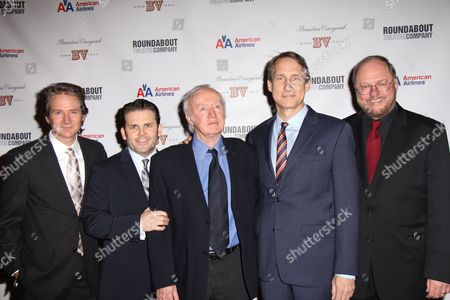 Editorial photo of 'The Mystery of Edwin Drood' Play Opening Night, New York, America - 13 Nov 2012