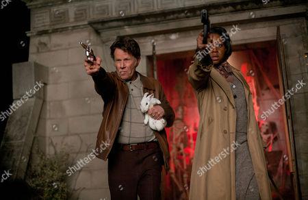 Stock Image of Seven Psychopaths - Tom Waits and Amanda Mason Warren