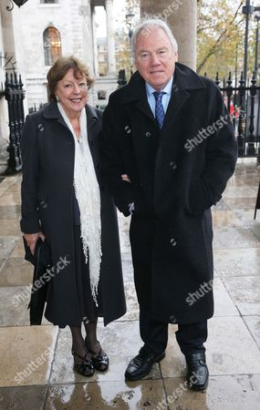 Peter Sissons and wife Sylvia