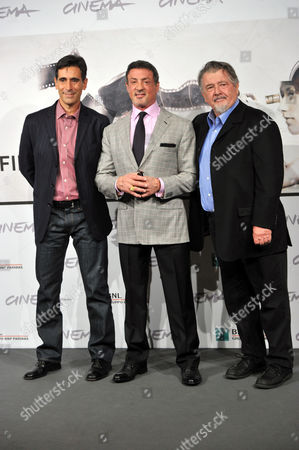 Screenplay Writer Alessandro Camon, Sylvester Stallone and Director Walter Hill