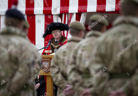 Stock Image of The Lord Mayor of London, David Wootton